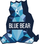 Blue Bear, agence de communication Logo